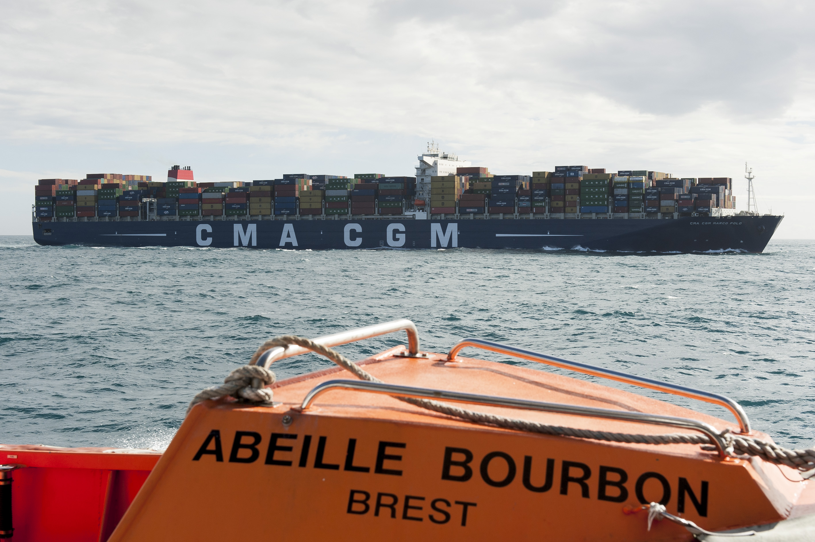 Fortunes de mer - CMA-CGM MARCO POLO : Impossible to salve and to