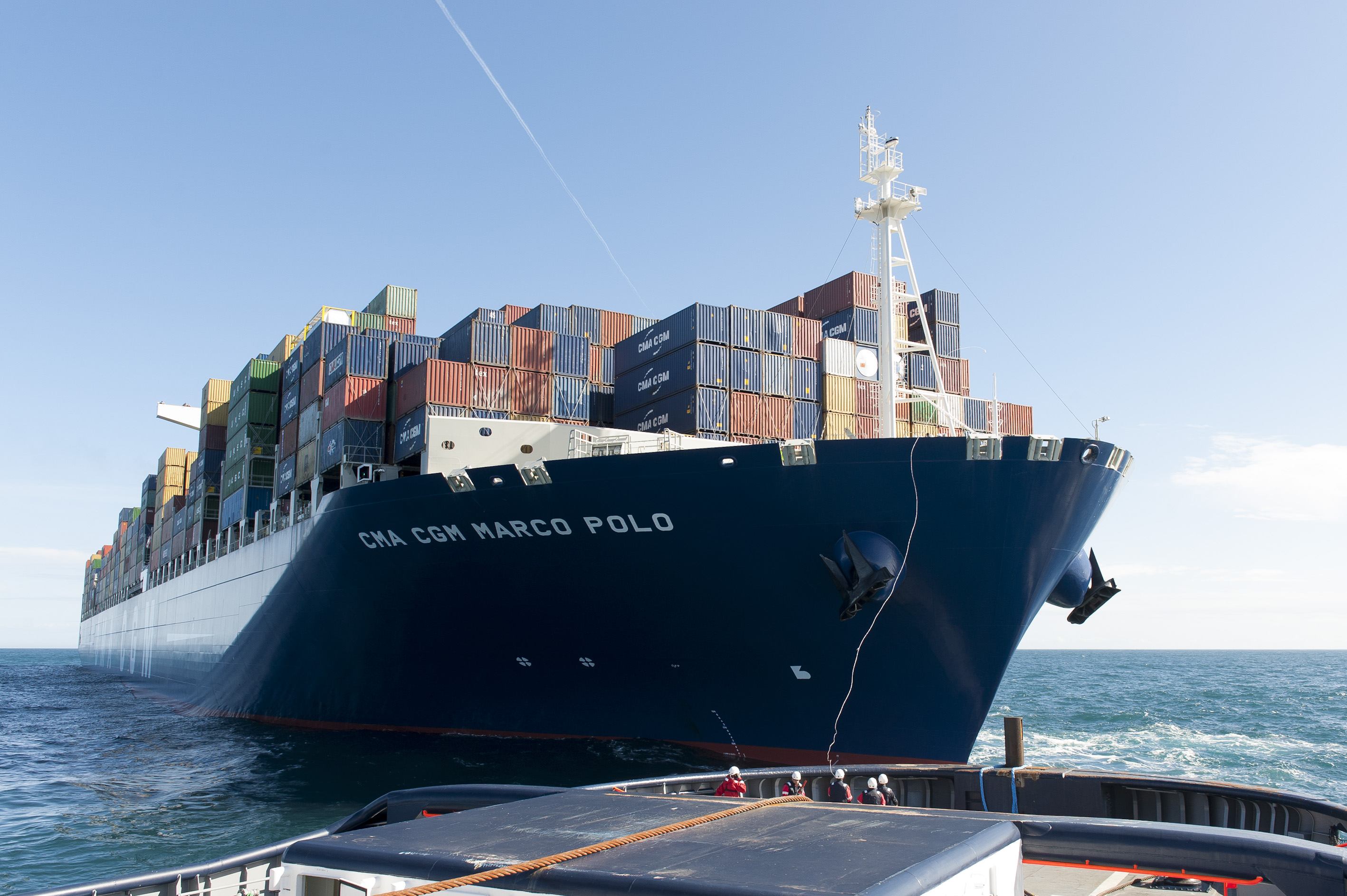 Fortunes de mer - CMA-CGM MARCO POLO : Impossible to salve