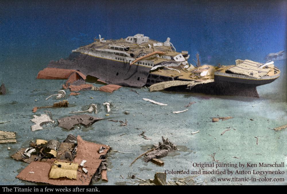 the titanic essay