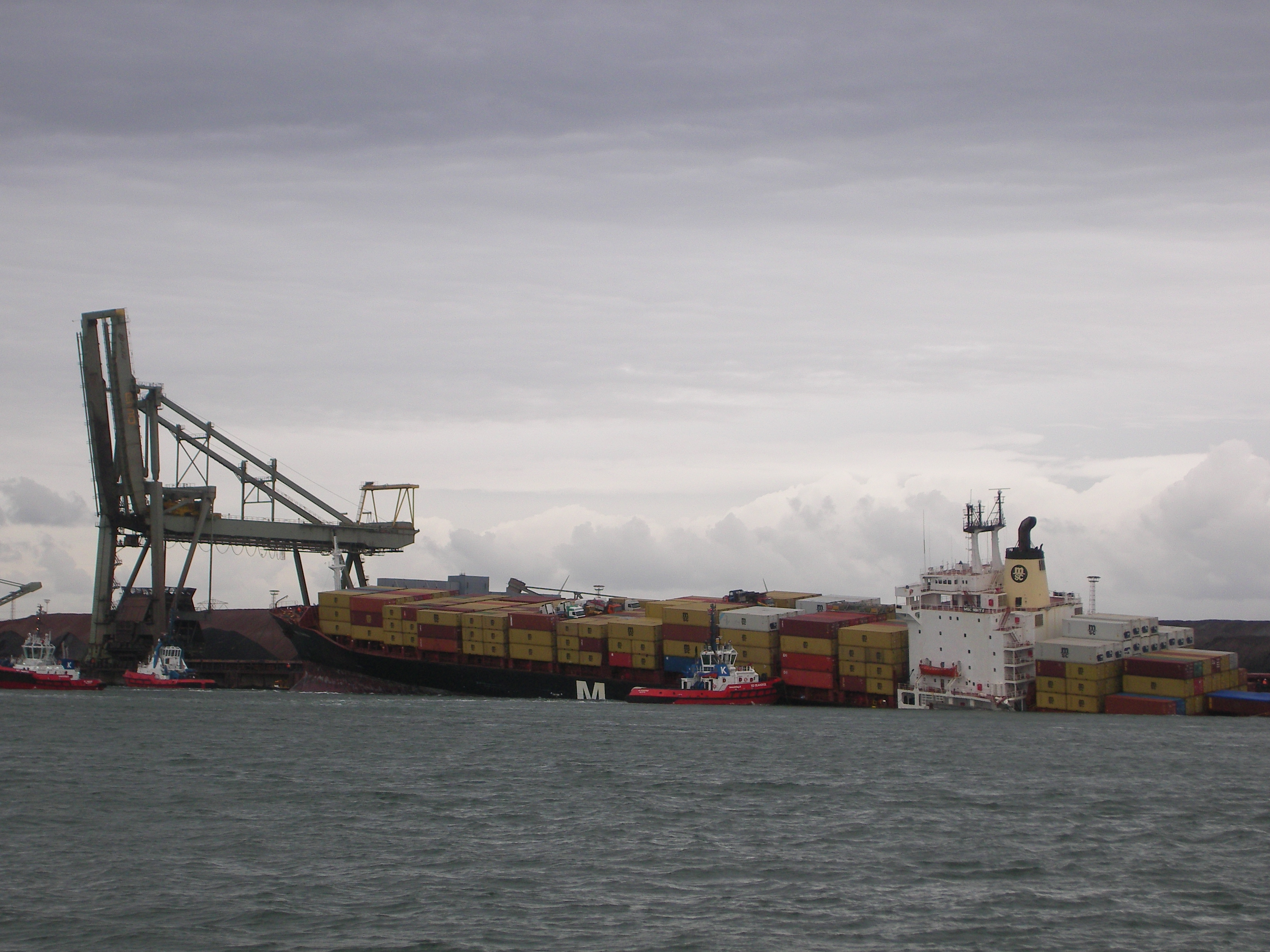 Collision between MSC NIKITA and NIRINT PRIDE 29 August 2009